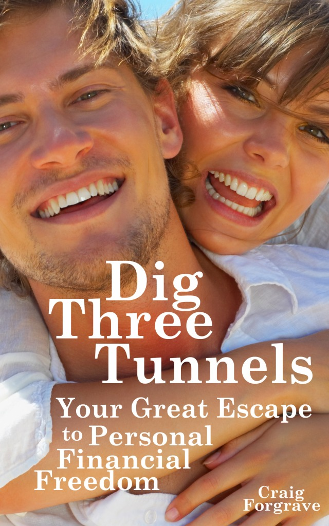 Dig Three Tunnels book cover